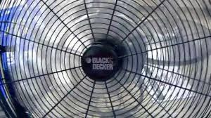 Floor Fan by Black U0026 Decker Floor Fan Youtube