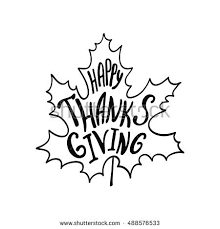 happy thanksgiving words stock images royalty free images