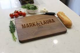 personalized cutting board personalized cutting boards etchey