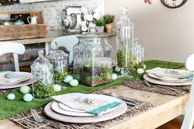 Easter Apothecary Jar Decorations by Apothecary Jar Terrarium Easter Centerpiece Bless U0027er House