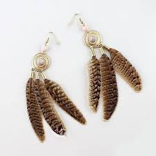 feather earrings online india feather earrings online stud earrings at jovi fashion