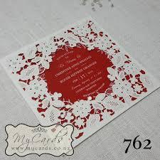 Red Wedding Invitations Mycards Wedding Invitations Auckland New Zealand