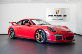 red porsche 911 2015 porsche 911 gt3 for sale in colorado springs co 16199b