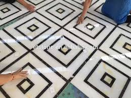 floor design cheap marble floor design waterjet medallion supplier for hotel