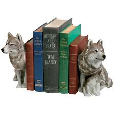 Unique Bookends Sandicast Wolf Bookends Set I Really Want This Bookshelves