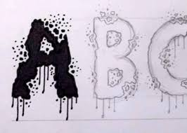 scary halloween lettering designing a horror font by jonathan harris zombie slayer youtube