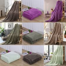 Plush Sofa Bed Super Soft Flannel Throw Blanket Plush Sofa Bed Cover Warm Blanket