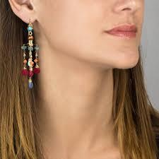Huge Chandelier Earrings Turquoise Big Chandelier Earrings