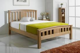 wooden bed frames the oak bed store