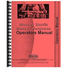 operator u0027s manual for massey harris 26 combine self propelled