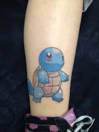 squirtle tattoo pokemon squirtle tattoos pinterest