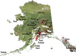 A Map Of Alaska by Stake A Claim U2014 Soldotna Holds Title At End Of U S Homesteading