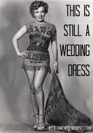 alternative wedding dress this is still a wedding dress alternative takes on wedding day