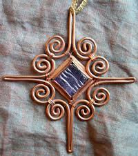 copper in the arts magazine copper ornaments reflecting