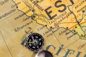 map of usa with compass map of coast of the usa transportation photos