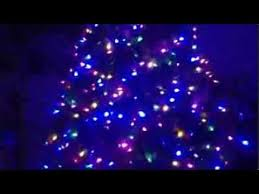 santa s best 7 1 2 upswept pre strung led lights frazier fir