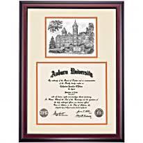 auburn diploma frame auburn graduation diploma frames by college ocm