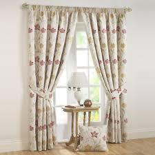 canterbury autumn pencil pleat tapestry lined curtains pair