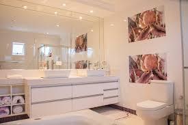 mirrored bathroom giovani shower doors