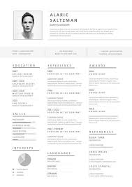 Another Name For Resume Cv Another Great Monotone Color Scheme On This Creative Resume Layout