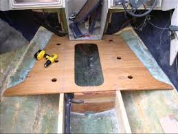 boat floor replacement