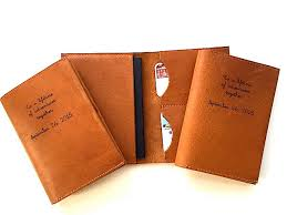 custom wedding presents personalized wedding gift passport wallet travel wanderlust