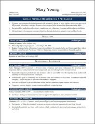entry level resume exles and writing tips entry level hr resume exles generalist 12 entrylevel hrspeci