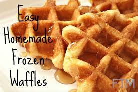 Toaster Waffles Easy Homemade Frozen Waffles