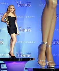 legs of a goddess mariah s pricey pins people entertainment smh com au