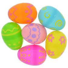 bulk easter eggs bulk printed fillable plastic eggs 12 ct packs at dollartree