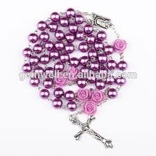 catholic rosary glass cheap catholic mexican rosary with crucifix and buy