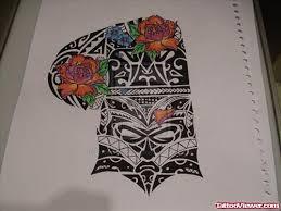 attractive black ink maori tribal tattoo design tattoo viewer com
