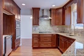Upgrade Kitchen Cabinets Of Late Upgrade Oak Kitchen Cabinets With Crown Moldings 23