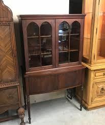 dark wood china cabinet antique dark mahogany wood china cabinet hutch gideon s gallery