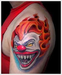 29 best clown tattoo designs images on pinterest tattoo designs