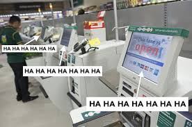 Self Checkout Meme - 20 reasons why self service checkouts are just the worst