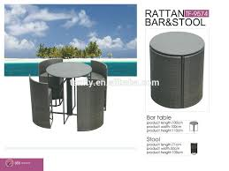 space saving patio furniture new design space saving patio rattan