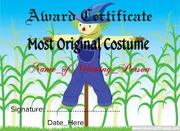 most original halloween costume template