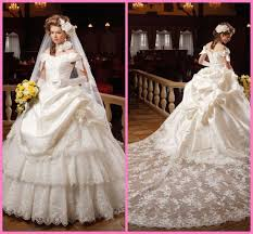 new design ball gown wedding dress bridal gown ivory off the