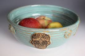 halloween serving bowls bowl with sugar skull day of the dead halloween turquoise