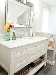 vanity bathroom ideas white bathroom vanity and storage cabinet schrock white bathroom