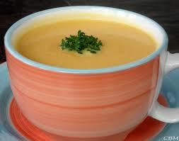 navet cuisine dans la cuisine de blanc manger potage de carottes et de navet à l