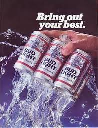 how much is a six pack of bud light 1984 bud light beer color magazine advertisement budweiser 6 pack