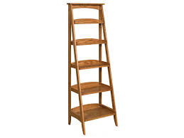 Wooden Ladder Bookshelf Plans by Furniture Wooden Ladder Shelving Units For Your Inspirations