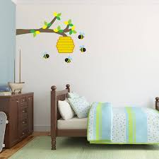 Wall Sticker Warehouse Bee Hive And Branch Wall Sticker By Mirrorin Notonthehighstreet Com