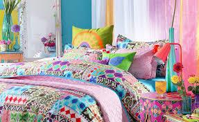 Custom Made Comforters Bedding Set Purple Bohemian Bedding Quiescent Soft White Bedding