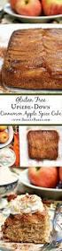 gluten free upside down apple spice cake breezy bakes