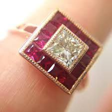vintage engagement rings taylor u0026 hart