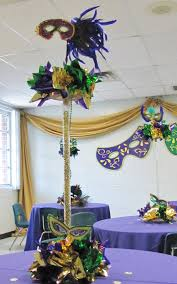 mardi gras centerpieces party event decorating company may 2012