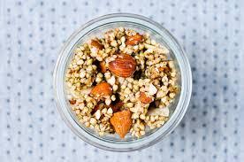 granola cru au sarrasin recette chocolate zucchini
